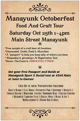 Manayunk Octoberfest - Craft Beer & Food Tour