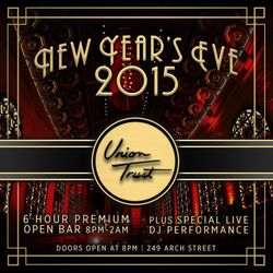 New Year's Eve 2015 at The Brand New Union Trust!