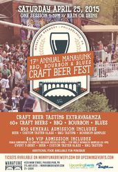 17th Annual Manayunk BBQ, Bourbon, and Blues Craft Beer Fest