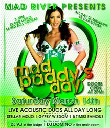 Mad Paddy's Day - Manayunk St Patrick's Day Music Festival