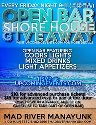 VIP Open Bar Shore House Giveaway!