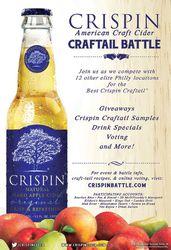 Crispin Cider Craftail Battle Event - Misconduct Tavern