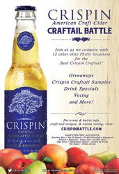 Crispin Cider Craftail Battle Event - Bourbon Blue