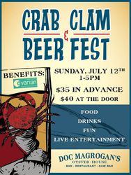The Philadelphia Craft Beer, Crab, and Clam Festival