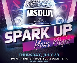 Absolut Vodka Private Bottle Release Party