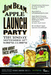 Jim Beam Apple Launch Party