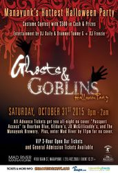 8th Annual Ghosts & Goblins Halloween Party in Manayunk
