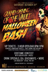 Halloween Bash - The Grand Opening of The Vault