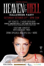 9th Annual Heaven & Hell Halloween Party