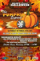 Pumpkin Express - Annual Halloween Bar Crawl {10.24.15}