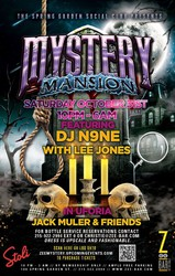 MYSTERY MANSION ~ Philadelphia's Only All-Night Halloween Bash