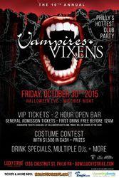 10th Annual Vampires + Vixens Halloween Party