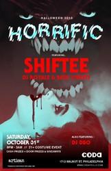 HORRIFIC - 3AM Halloween Party ft SHIFTEE @ Coda