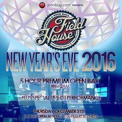 Field House NYE 2016!