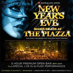New Year's Eve at the Piazza