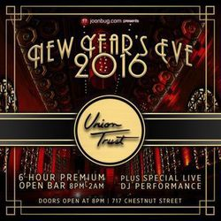New Year's Eve 2016 at The Brand New Union Trust!