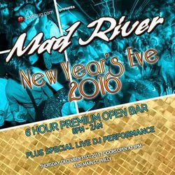 NYE at Mad River Bar & Grille!