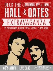 Deck The 'Hall & Oates' Extravaganza!