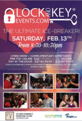 Pre-Valentine's Day Lock and Key Singles Event!
