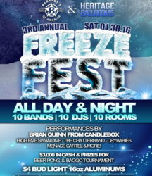 3rd Annual Freeze-Fest!