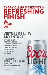 Coors Light Virtual Reality Tour