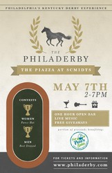 The PHILADERBY - Philadelphia's Kentucky Derby Festival
