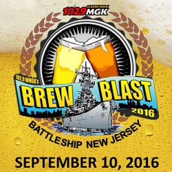 102.9 WMGK's 6th Annual Brew Blast on the Battleship