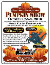 13th Annual South Jersey Pumpkin Show
