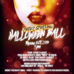 Peter Sterling Halloween Ball 2016