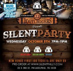Silent Philly Presents Silent Party