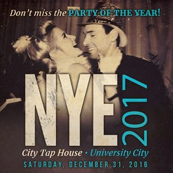 NYE 2017 at City Tap House University City