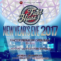Field House NYE 2017!