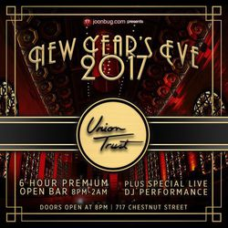 New Year's Eve 2017 at Union Trust!