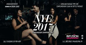 New Year's Eve Celebration 2017 at Infusion Lounge