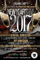 VIP New Year's Eve 2017 at Penn 6