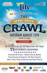 The Dewey Beach Crawl