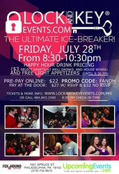 Philadelphia Lock and Key Singles Event!