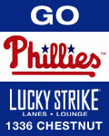 Feeling Lucky Phillies Fans! Catch the World Series at Lucky Strike Lanes!