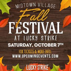 The Midtown Village Fall Festival at Lucky Strike