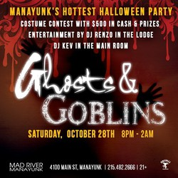 10th Annual Ghosts & Goblins Halloween Party in Manayunk