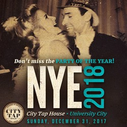 NYE 2018 at City Tap House University City