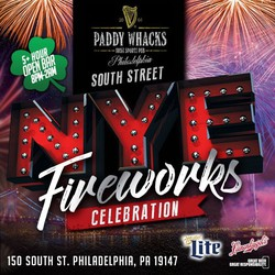 South Street New Year's Eve Fireworks Celebration
