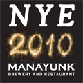 New Years Eve 2010 at The Manayunk Brewery & Restaurant