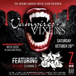12th Annual Vampires + Vixens Halloween Bash