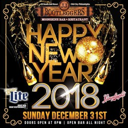 New Years Eve 2018 at JJ Bootleggers