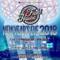 Field House NYE 2018!