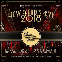 New Year's Eve 2018 at Union Trust!