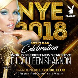 NYE 2018 at Philadelphia's Newest Club - Playboy DJ Colleen Shannon