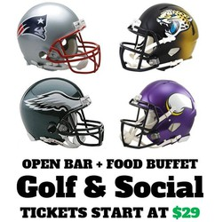 Eagles vs Vikings Playoff Viewing Party - Golf & Social