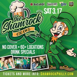 The Shamrock Crawl - St Patrick's Day Bar Crawl in Philadelphia
